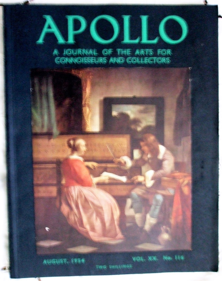 Apollo ~ Vol. XX ~ No. 116 ~ August 1934