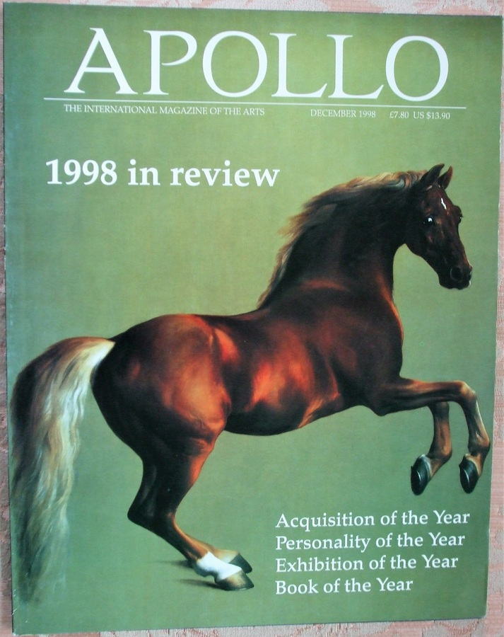 Apollo ~ Vol. CXLVIII ~ No. 442 ~ December 1998