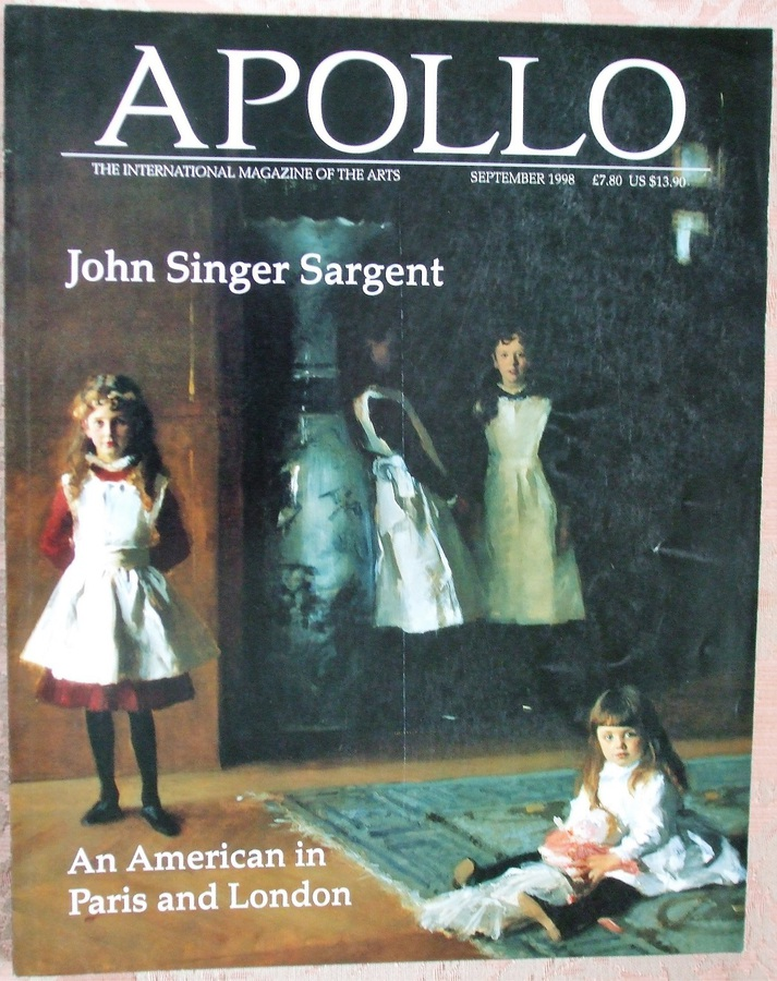Apollo ~ Vol. CXLVIII ~ No. 439 ~ September 1998