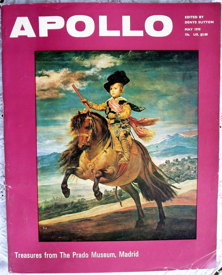 Apollo ~ Vol. XCI ~ No. 99 ~ May 1970