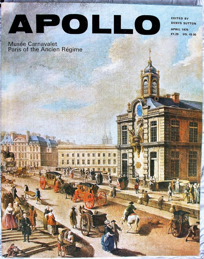 Apollo ~ Vol. CI ~ No. 158 ~ April 1975