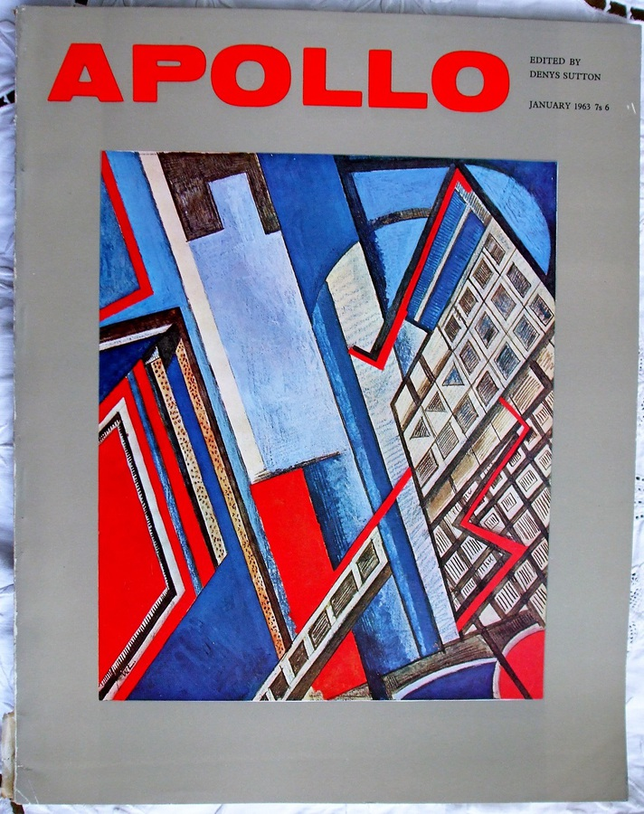 Apollo ~ Vol. LXXVII ~ No. 11 ~ January 1963