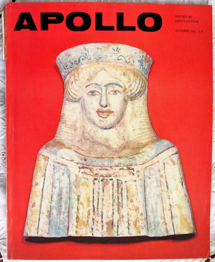Apollo ~ Vol. LXXVI ~ No. 8 ~ October 1962