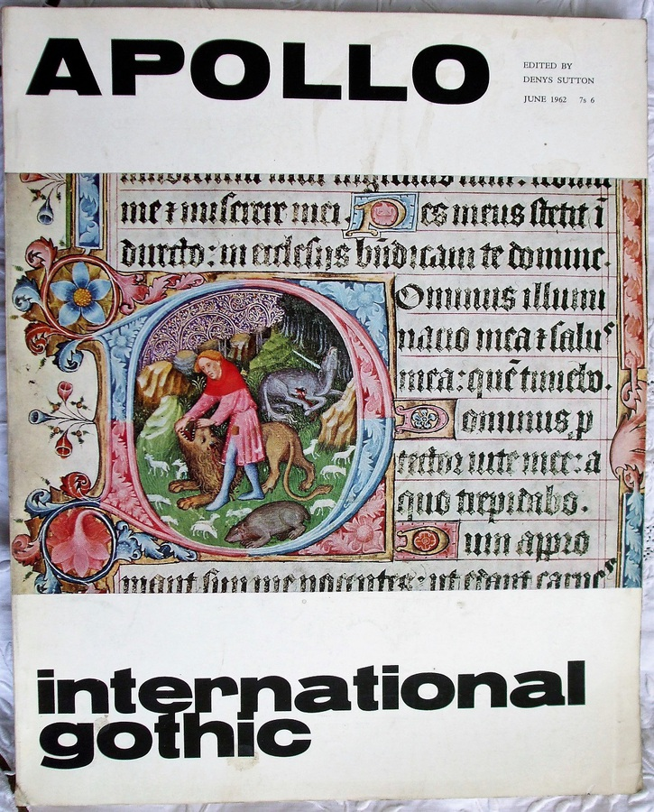 Apollo ~ Vol. LXXV ~ No. 4 ~ June 1962