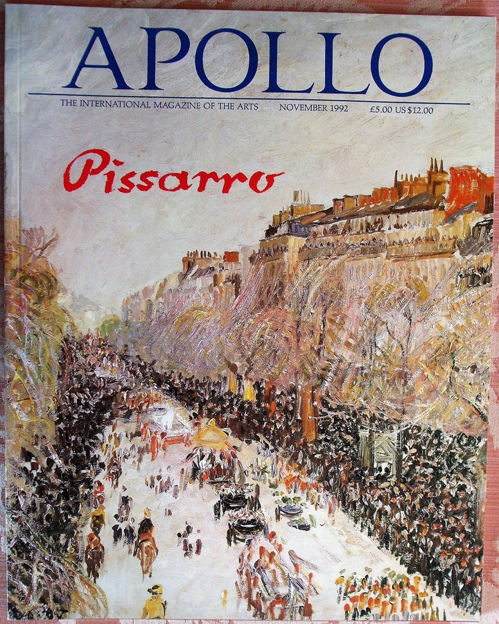 Apollo ~ Vol. CXXXVI ~ No. 369 ~ November 1992