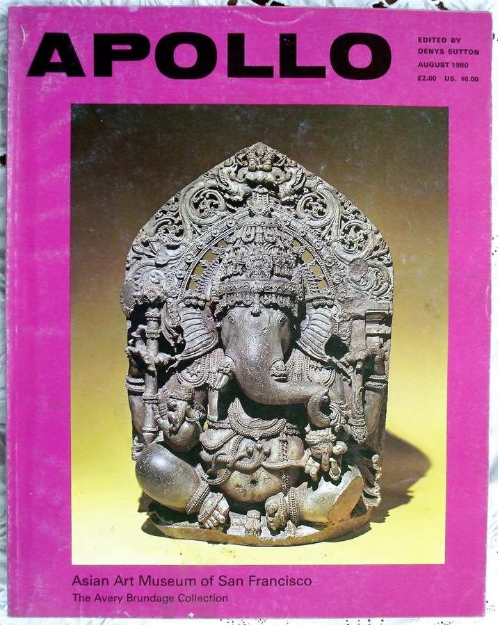 Apollo ~ Vol. CXII ~ No. 222 ~ August 1980