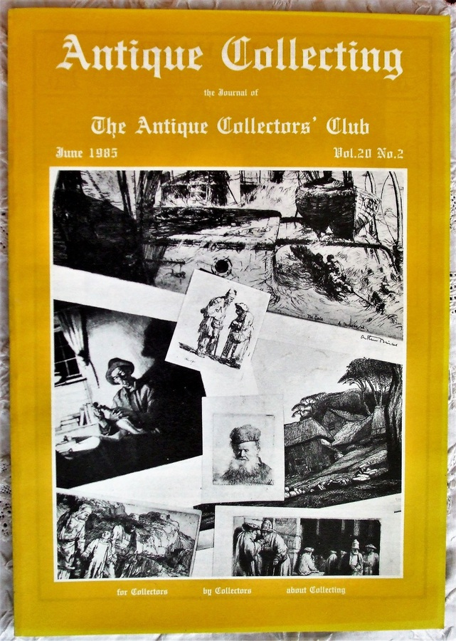 Antique Collecting ~ Vol. 20 ~ No. 2 ~ June 1985