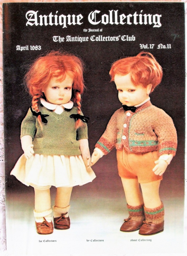 Antique Collecting ~ Vol. 17 ~ No. 11 ~ April 1983