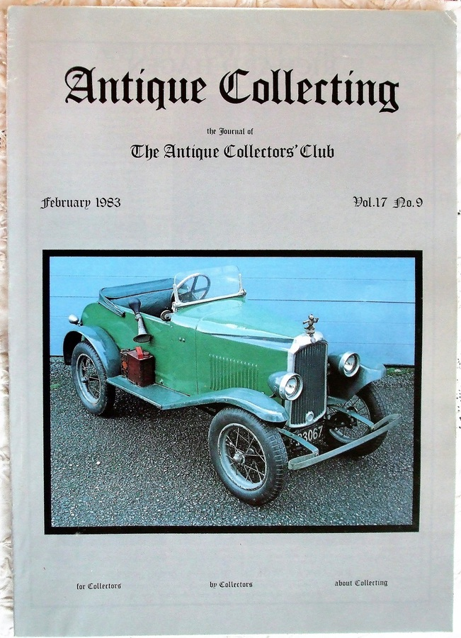 Antique Collecting ~ Vol. 17 ~ No. 9 ~ February 1983