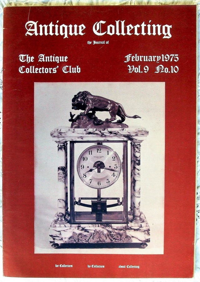 Antique Collecting ~ Vol. 9 ~ No. 10 ~ February 1975