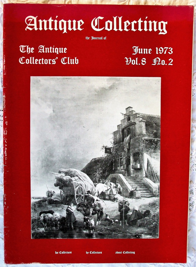 Antique Collecting ~ Vol. 8 ~ No. 2 ~ June 1973