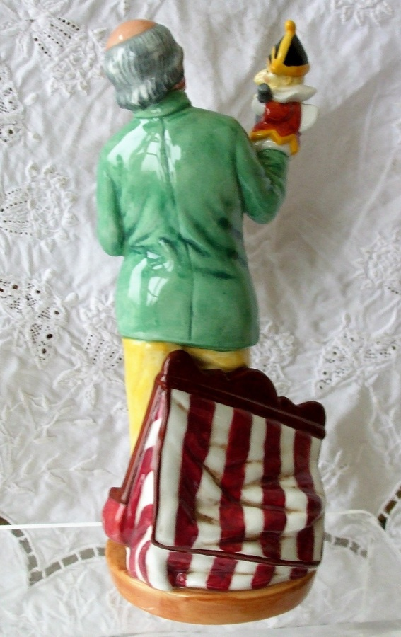 "Antique Royal Doulton English Porcelain Character Figurine ~ ""Punch and Judy Man"" ~ HN 2765"
