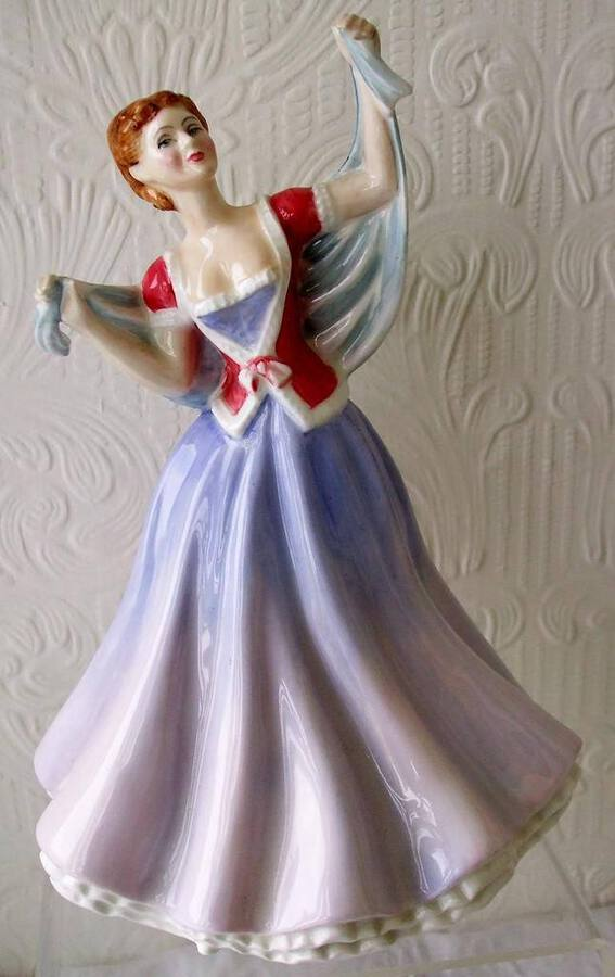 "Royal Doulton English Porcelain Figurine ~ ""June"" ~ HN 2991"