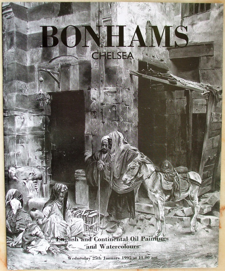 Bonhams Chelsea ~ English and Continental Oil Paintings and Watercolours ~ 25. 01. 1995