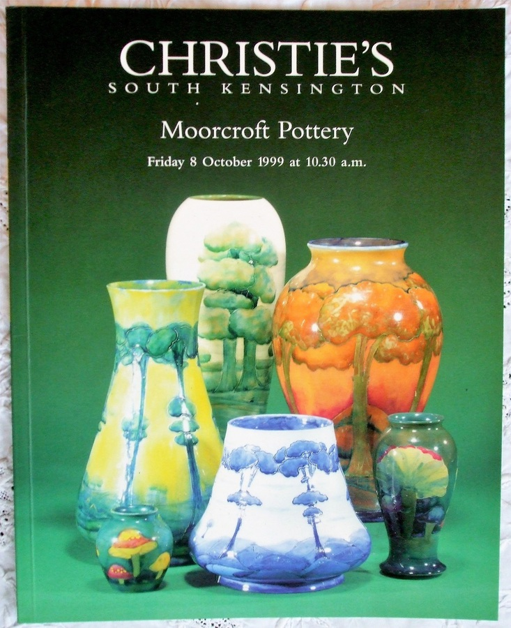 Christie's South Kensington ~ Moorcroft Pottery ~ London ~ 08. 10. 1999