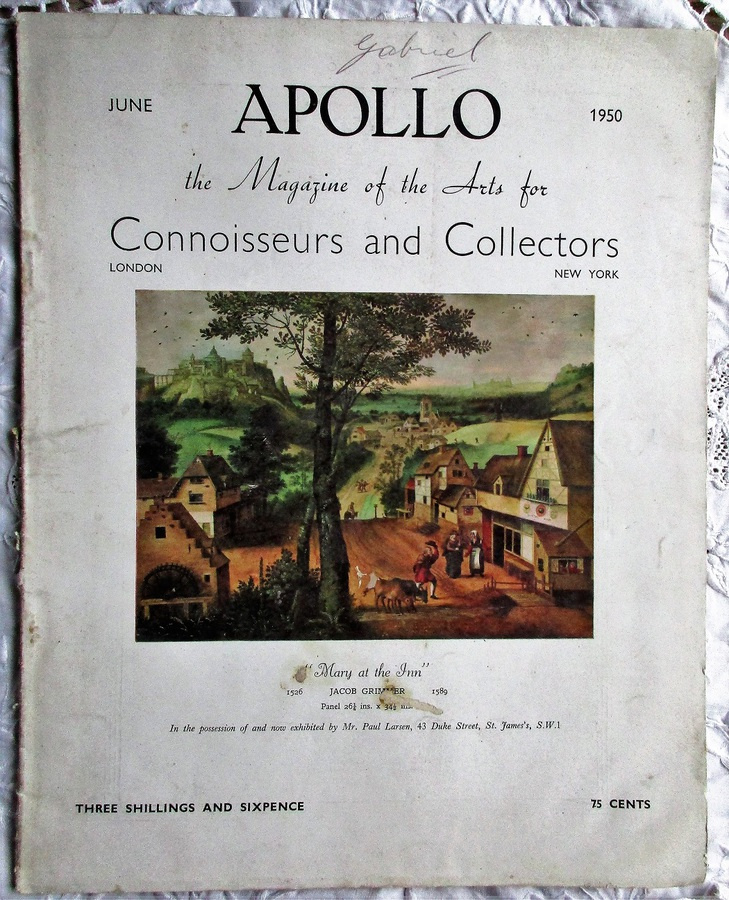 Apollo ~ Vol. LI ~ No. 304 ~ June 1950