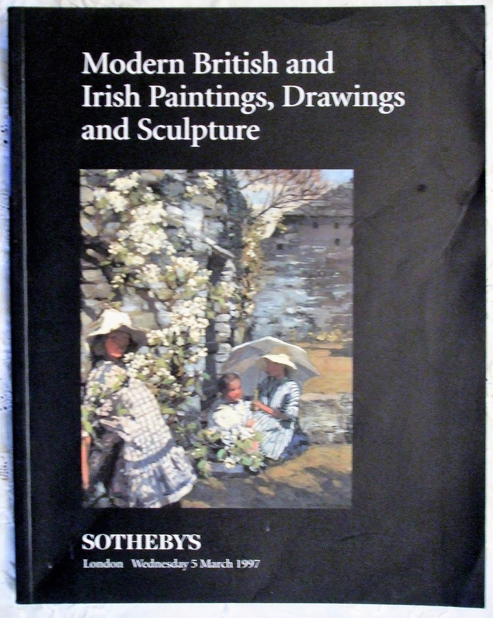 Sotheby's ~ Modern British and Irish Paintings, Drawings and Sculpture ~ London ~ 05. 03. 1997