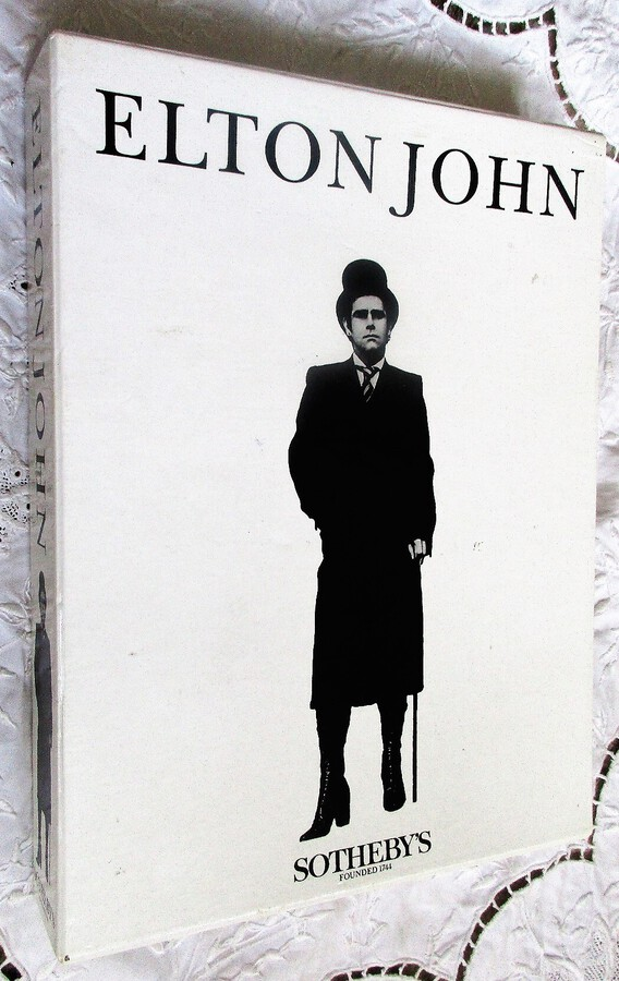 Sotheby's ~ Elton John ~ The Four Volume Catalogue ~ London ~ 06. - 09. 09. 1988