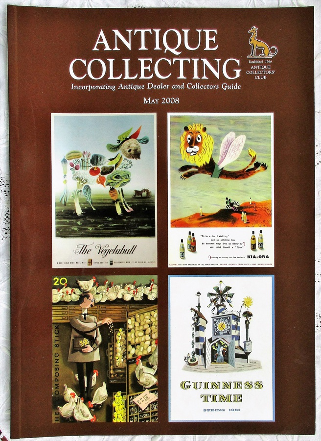 Antique Collecting ~ Vol. 43 ~ No. 1  ~ May 2008