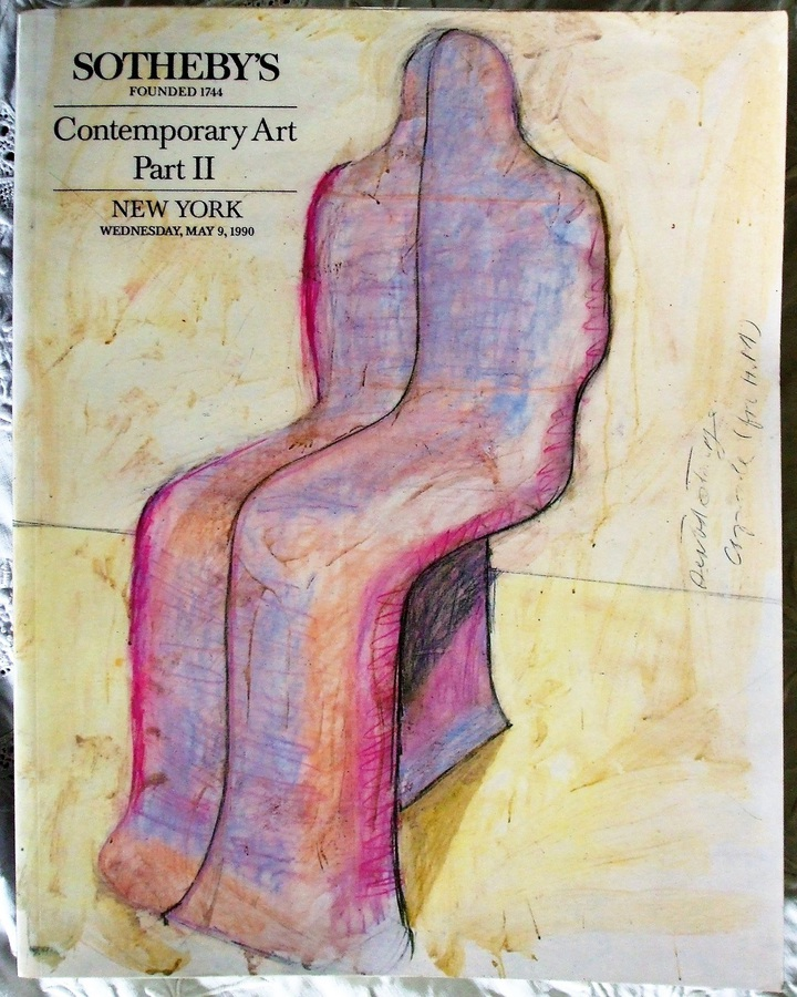 Sotheby's ~ Contemporary Art Part II ~ New York ~ 09. 05. 1990