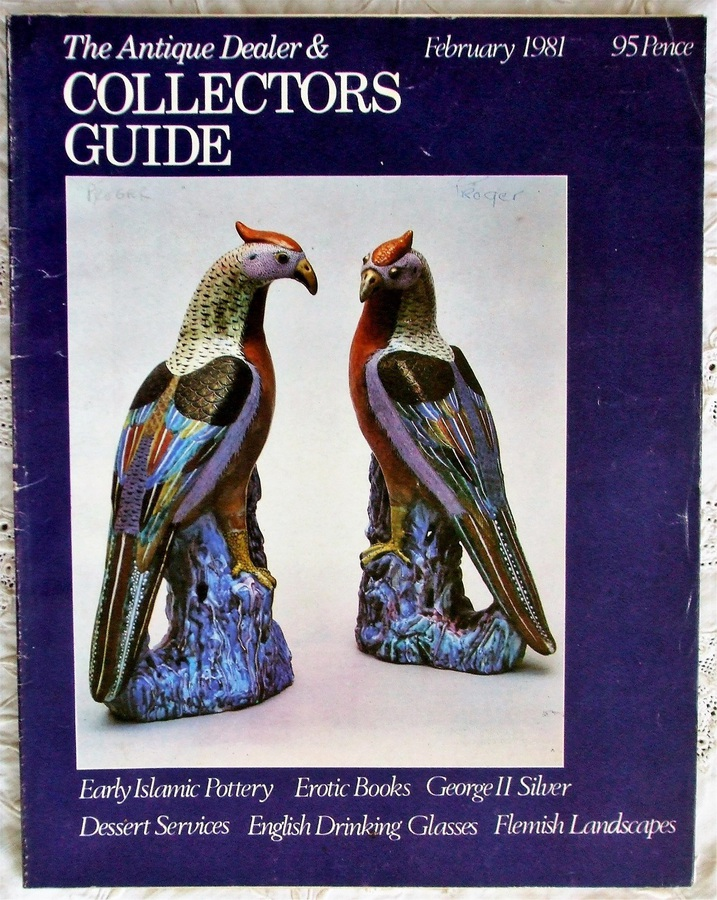 The Antique Dealer and Collectors Guide ~ February 1981
