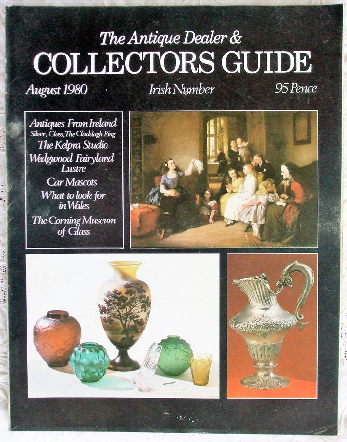 Antique The Antique Dealer and Collectors Guide ~ August 1980