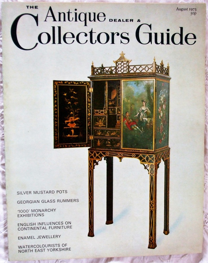 The Antique Dealer and Collectors Guide ~ August 1973