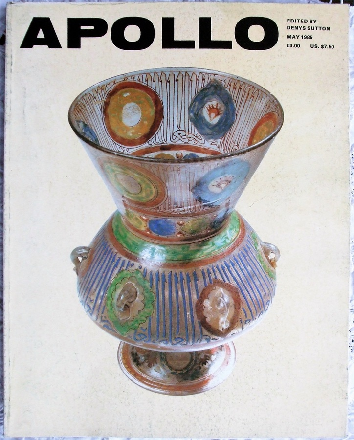 Apollo ~ Vol. CXXI ~ No. 279 ~ May 1985