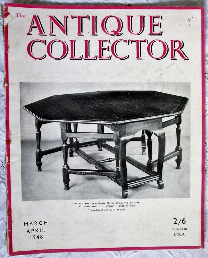 The Antique Collector  ~ Vol. 19 ~ No. 2 ~ March - April 1948
