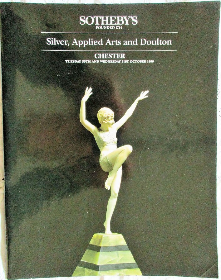 Sotheby's ~ Silver, Applied Arts and Doulton ~ Chester ~ 30. - 31. 10. 1990
