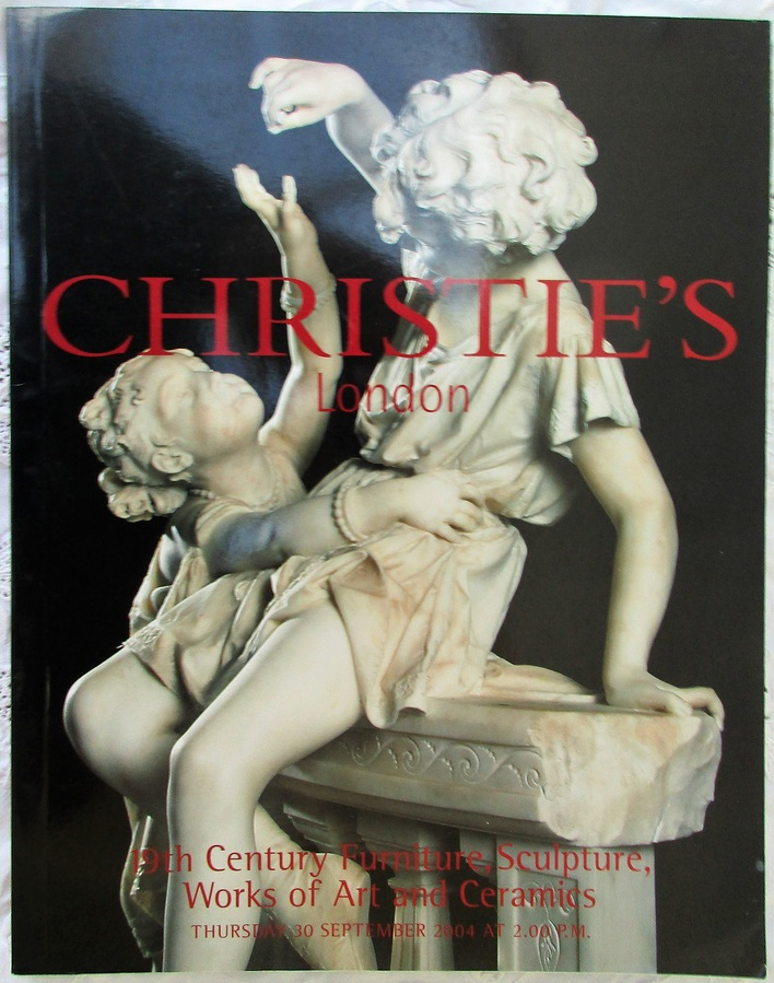 Christie's ~ 19th Century Furniture, Sculpture, Works of Art and Ceramics
