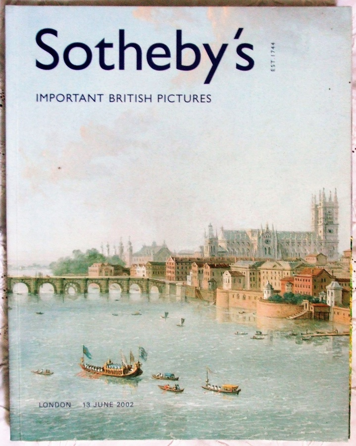 Sotheby's ~ Important British Pictures ~ London ~ 13. 06. 2002