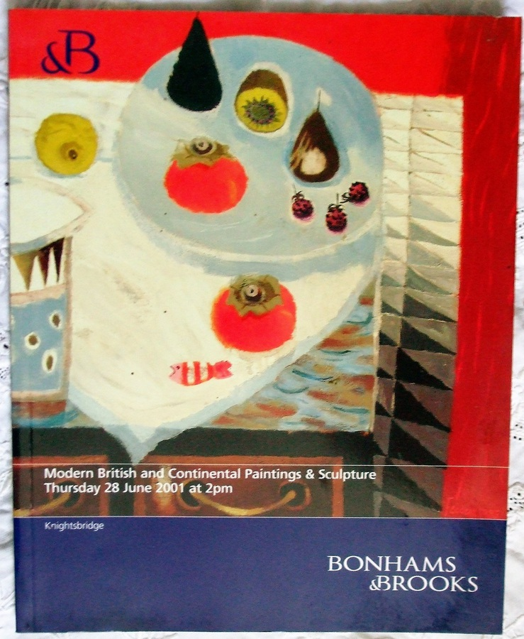 Bonhams & Brooks ~ Modern British and Continental Paintings and Sculpture ~ London ~ 28. 06. 2001