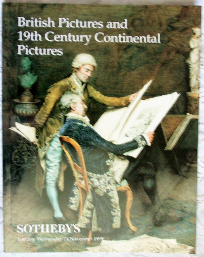 Sotheby's ~ British Pictures and 19th Century Continental Pictures ~ London ~ 24. 11. 1999