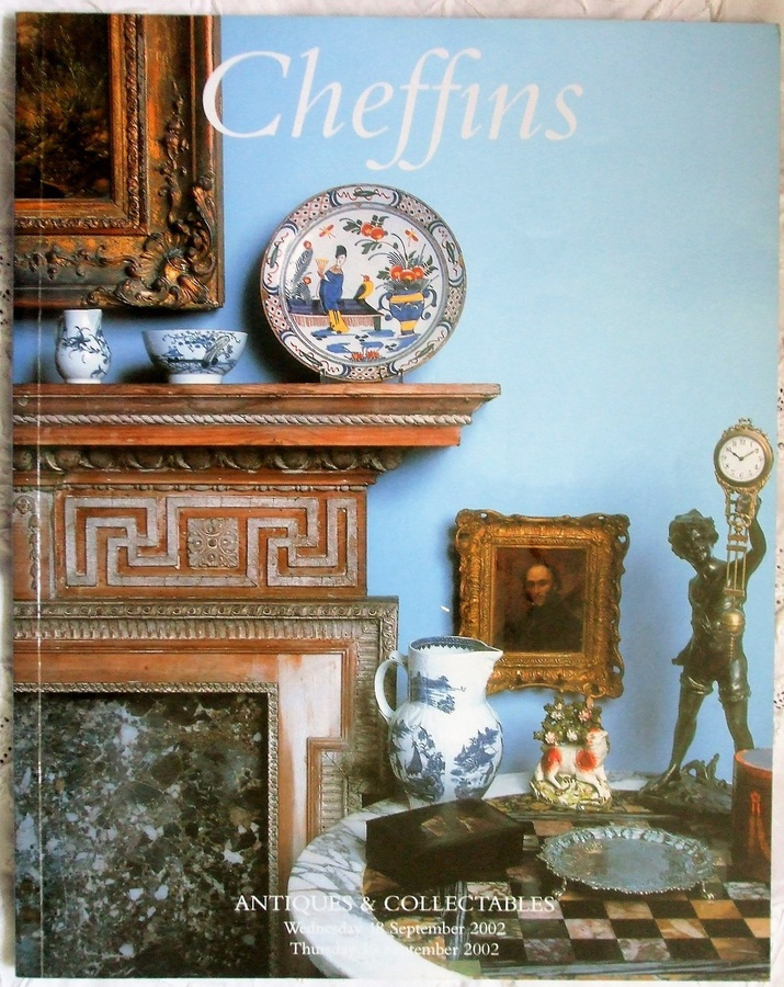 Cheffins ~ Antiques and Collectables ~ Cambridge ~ 18. & 19. 09. 2002