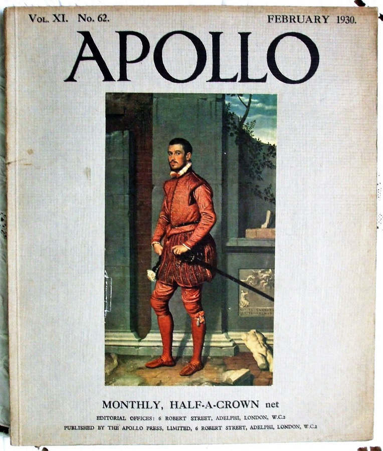 Apollo ~ Vol. XI ~ No. 62 ~ February 1930