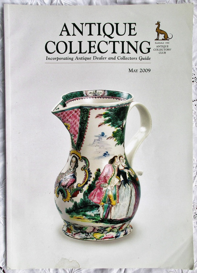Antique Collecting ~ Vol. 44 ~ No. 1  ~ May 2009