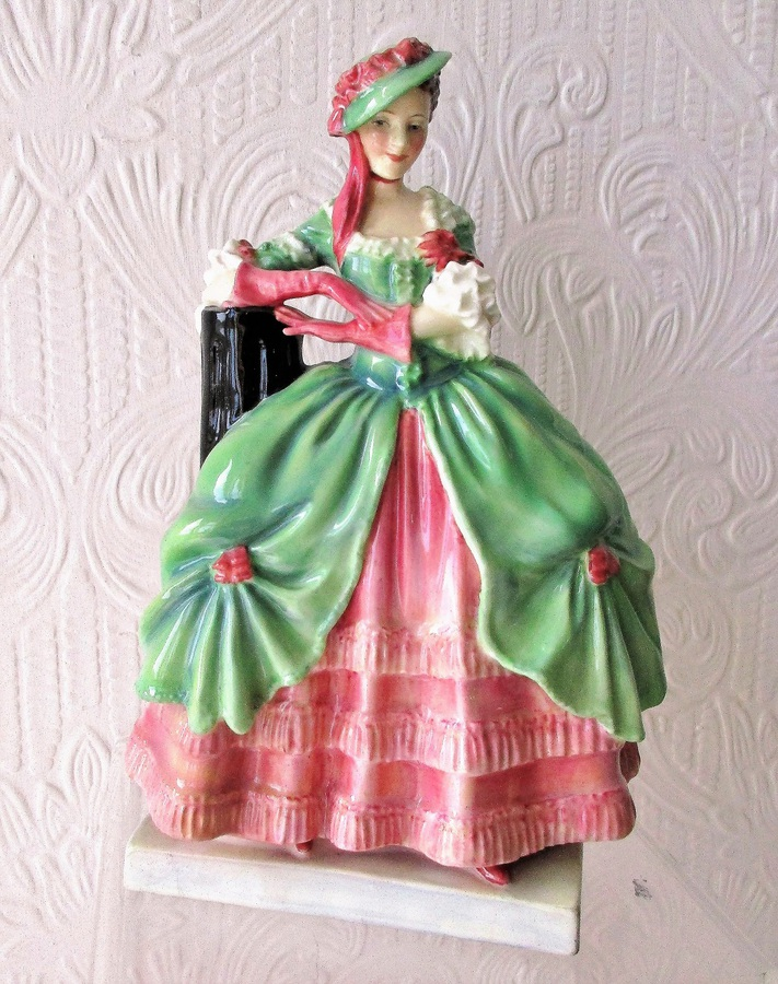 "Vintage Royal Doulton English Porcelain Figurine ~ ""Kate Hardcastle"" ~ HN 1719"
