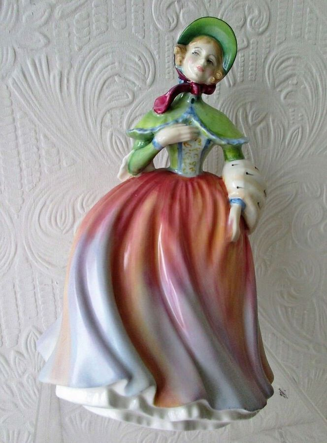 "Royal Doulton English Porcelain Figurine ""Jessica"" ~ HN 3169 ~ Different Colourway"