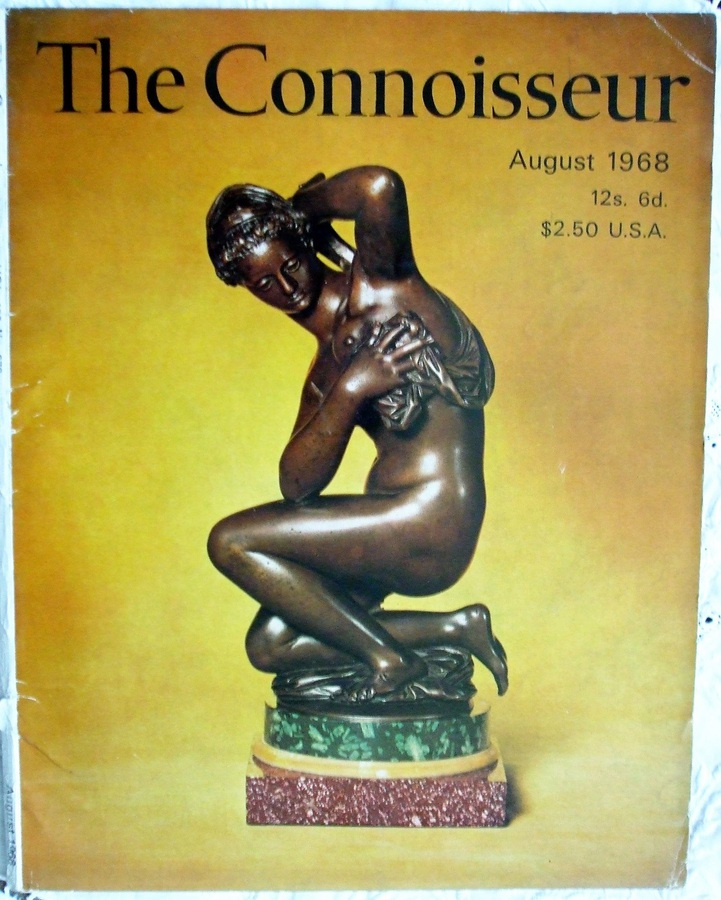 The Connoisseur ~ Vol. 168 ~ No. 678 ~ August 1968