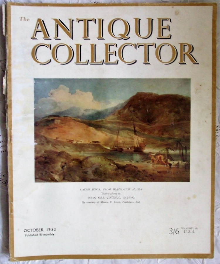 The Antique Collector ~ Vol. 24 ~ No. 5 ~ October 1953