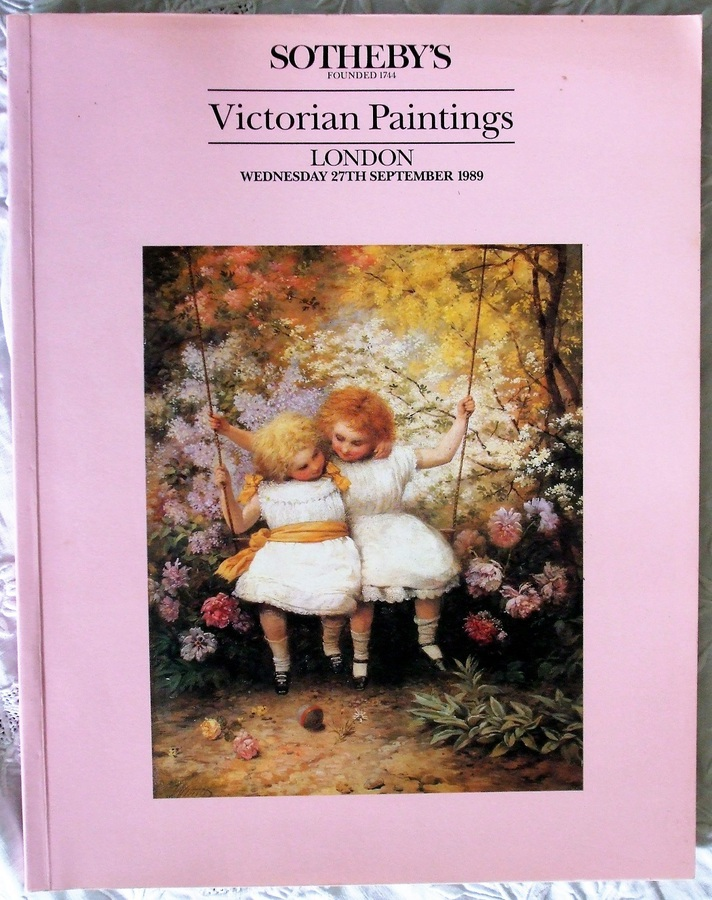 Sotheby's ~ Victorian Paintings ~ London ~ 27. 09. 1989