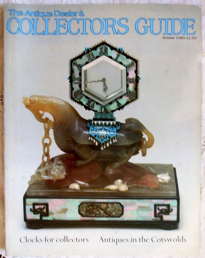 The Antique Dealer and Collectors Guide ~ October 1985