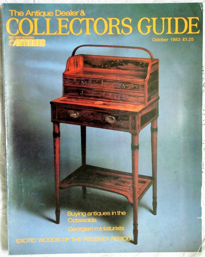 The Antique Dealer and Collectors Guide ~ October 1983