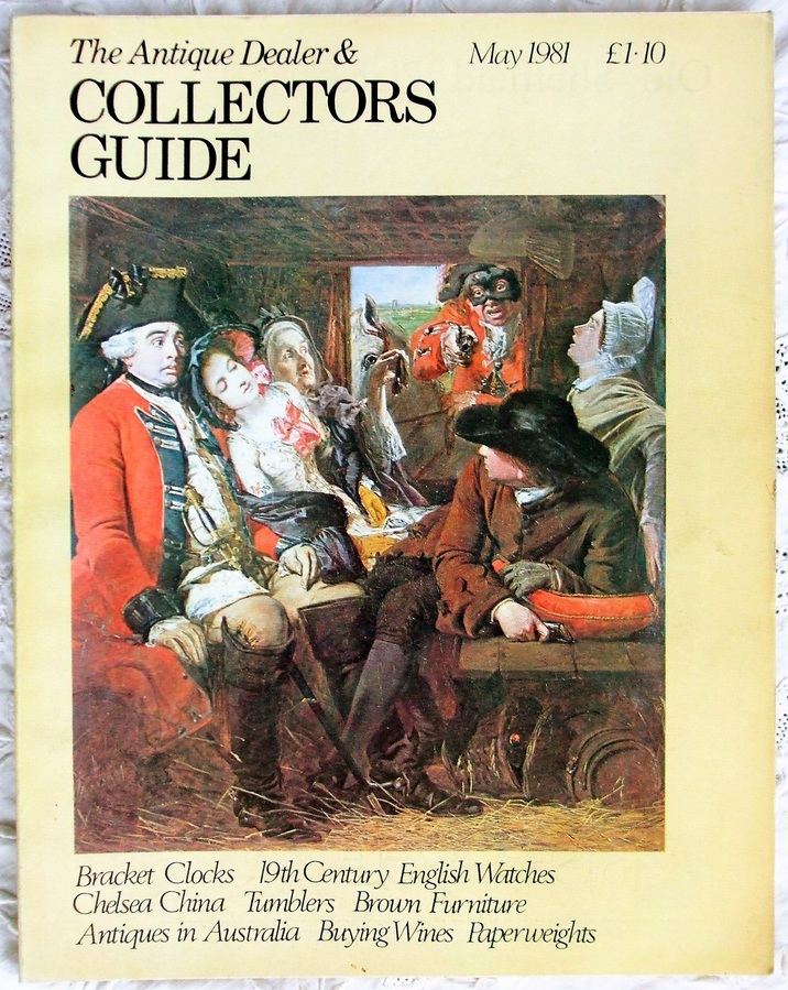 The Antique Dealer and Collectors Guide ~ May 1981