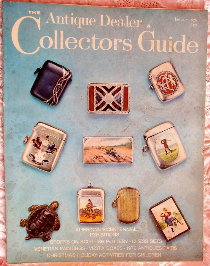 The Antique Dealer and Collectors Guide ~ January 1976