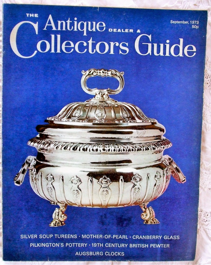 The Antique Dealer and Collectors Guide ~ September 1973