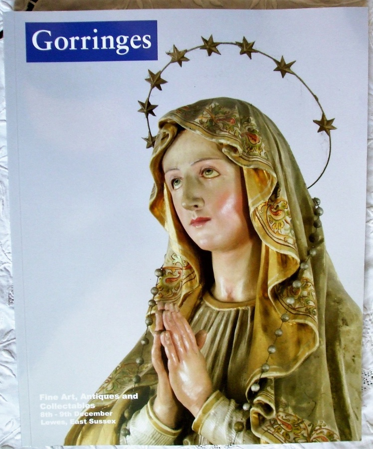Gorringes ~ Fine Art, Antiques and Collectables ~ Lewes ~ 08. - 09. 12. 2010