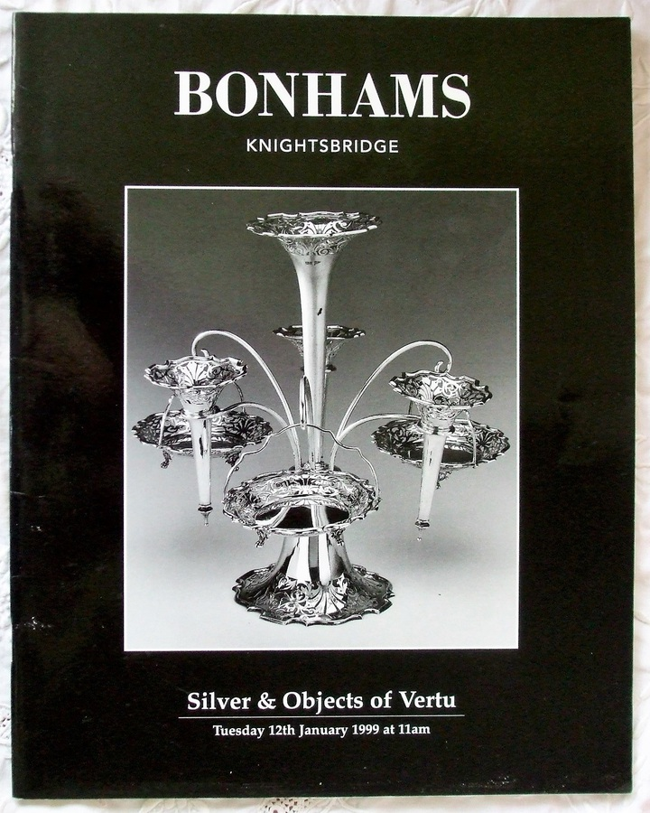 Bonhams ~ Silver & Objects of Vertu ~ London ~ 12. 01. 1999