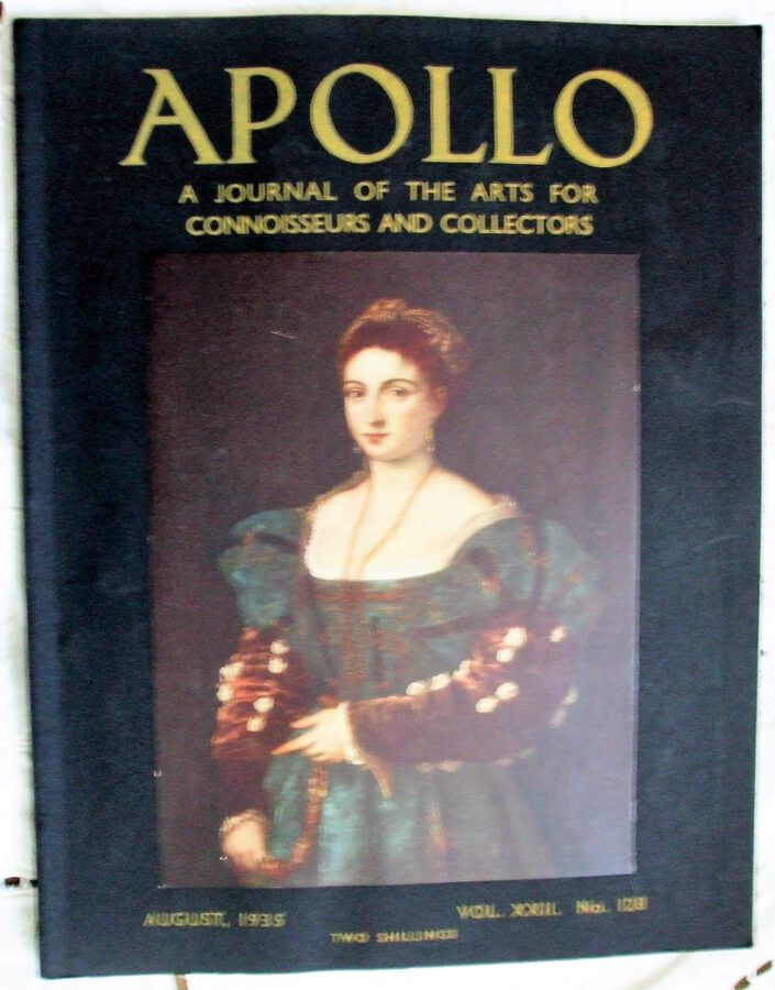 Apollo ~ Vol. XXII ~ No. 128 ~ August 1935